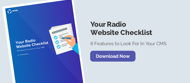 Why You Need an Enterprise CMS for Your Radio Station Websites